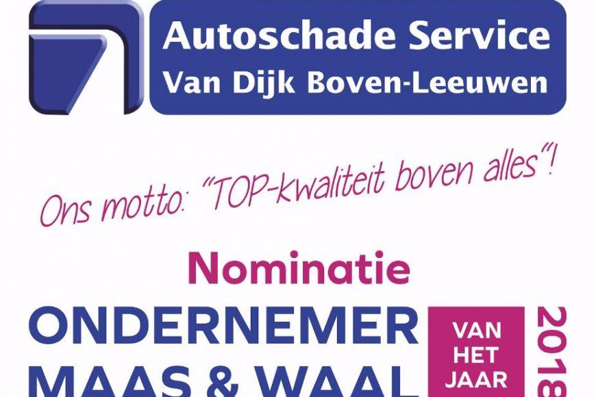 Nominatie Ondernemer van het jaar 2018